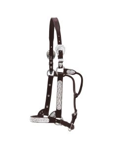 Flower and Blue Stone Show Halter