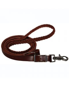 Latigo Plaited Roping Rein