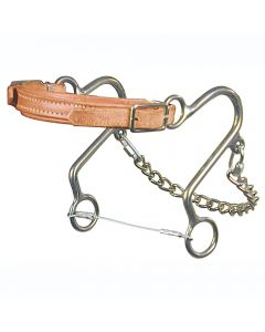 964L Leather Nose Little S Hackamore